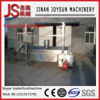 Wholesale Electricity Or Gas Peanut Roasting Machine / Frying Beans Production Line from china suppliers