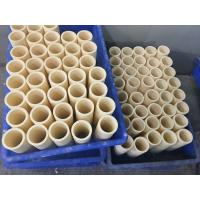 Wholesale High Purity 99 Alumina Ceramic Furnace Tube 2.5mm Shock Resistant from china suppliers