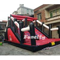 Wholesale Durable PVC Tarpaulin Inflatable 5k Obstacle Course Run Race For Sport Games from china suppliers
