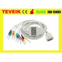 Buy cheap Burdick Compatible EKG Cable 012-0844-00 10 lead ECG Cable with IEC standard for Din 3.0 from wholesalers