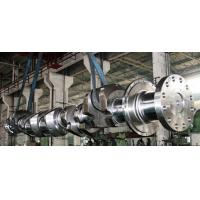 Wholesale OEM Crankshaft Forgings Forged Alloy Steel Industrial Shaft 42CrMo, 34CrNiMo6, 25Mn from china suppliers