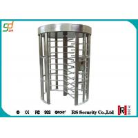 Wholesale Heavy Duty Security Pedestrian Full Height Turnstiles Gate With Card Reader from china suppliers