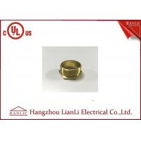 Wholesale BSI Stahdard Brass Lock Nut Male / Female Bush GI Thread Hexagon Type from china suppliers