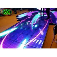 Wholesale High Brightness SMD3535 P10 Catwalk Stage Interactive Dance Floor 1/4 Scan from china suppliers