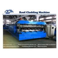 Wholesale 0.3-0.8mm Double Layer Roof Sheet Machine With 7.5KW Main Power from china suppliers