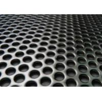 Quality Round hole Perforated metal sheet for sale