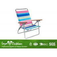 Wholesale Reclining Sun Loungers Pool Deck Chairs Fabric Material Customized Design from china suppliers