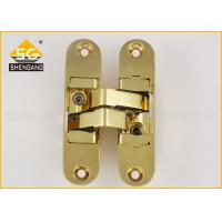 Wholesale 111.5 X 29mm 180 Degree Adjustable Concealed Hinge For Wooden Doors from china suppliers