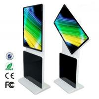 Wholesale 75W Smart Advertising Digital Signage Kiosk 360 Degrees Rotate LCD Display from china suppliers