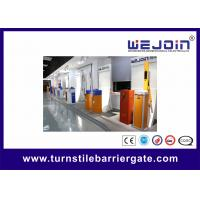 Buy cheap RFID Vehicle Barrier Gate Parking Management Systems with RS485 Communication Module from wholesalers