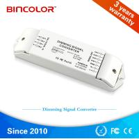 Wholesale Zhuhai Bincolor led signal dimmer 4 channel dali to 0-10v signal led dimming converter from china suppliers