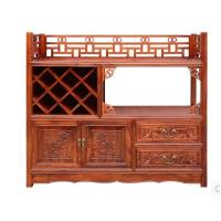 Buy cheap Chinese style porch partition solid wood antique furniture from wholesalers