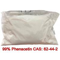 Buy cheap Pharmaceutical Grade 99% Phenacetin CAS 62-44-2 Powder for Analgesic and antipyretic from wholesalers