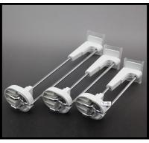 Wholesale COMER shop Supermarket Metal Slatwall Display Hook Pegboard hook from china suppliers