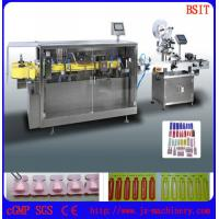 Wholesale pasty fluid filling and sealing machine  labeling machine was used in cosmetics from china suppliers