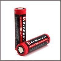 Wholesale Brillipower 18650 2200mah 3.7v Li-mn Rechargeable Battery from china suppliers