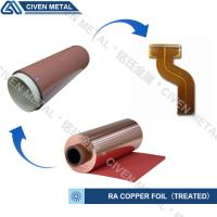 Wholesale High Flexibility 25UM / 35UM / 50UM RA Copper Foil For Fine Circuit FPC from china suppliers