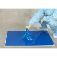 Wholesale 30 layers blue floor protection PE laboratory sticky mat from china suppliers