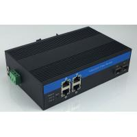 Wholesale 10/100/1000Mbps Managed Optical Fiber Media Converter 4 RJ45 To 2 Fiber from china suppliers