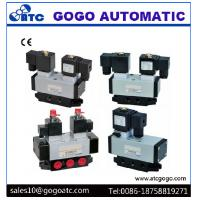 Wholesale Change Way 5/2 Pneumatic Solenoid Directional Control Valve Electricity Control from china suppliers