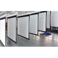 Wholesale White Motorized Silver Projection Screen  from china suppliers