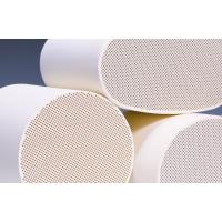 Buy cheap Cordierite Diesel Particulate Filter , White Ceramic Substrate from wholesalers