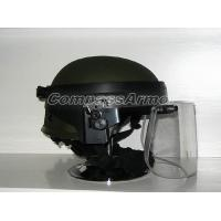 Wholesale Tactical Ballistic Protection Helmet with Face Shield Threat for Protection 0. 14 sq. M from china suppliers