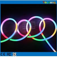 Wholesale 24v digital led neon tube flex rgb color changing rope wire strip 60SMD/M from china suppliers