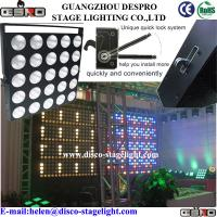 Wholesale DJ Equipment LED Matrix light 5*5 RGB LED Blinder Light Sound Activated from china suppliers