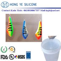 Wholesale Semitransparent liquid silicone rubber  for fish hook mould making from china suppliers