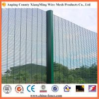 Quality 358 security fence metal security fencing Anti Climbing Fence 76.2x12.7mm for sale