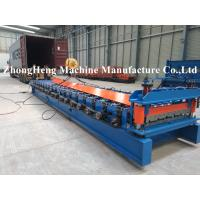 Quality Long Span Aluminum Roof Sheet Roll Forming Machine For 0.2mm Thickness Roof Panel for sale