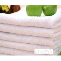 Wholesale Compact Pure White Hand Towels For Hotel , Soft Touch Hand Wash Cloth Fast Drying from china suppliers