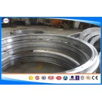 Wholesale 4130 / 1.7218 Forged Steel Rings Black / Smooth Surface Chrome Alloy Steel from china suppliers