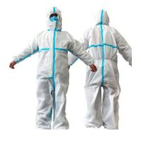 China Factory Disposable Protective Coverall , Disposable Body Suit Unisex Flame Retardant on sale