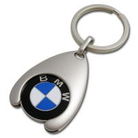Quality Waterdrop Trolley Coin Keychain for sale