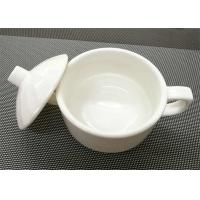 Buy cheap 4''  White Stackable Porcelain Soup Bowl Porcelain China Dinnerware Sets Weight 259g from wholesalers