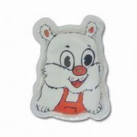 Wholesale Hot Water Bag in Cat Design, Reusable, Non-toxic and Non-caustic Features from china suppliers