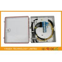 Wholesale 24 Core Fiber Optic Distribution Box Cabinet , 12 Port Outdoor Cable Termination Box from china suppliers