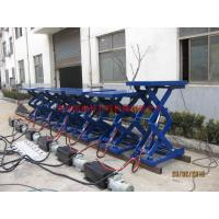 Wholesale Metal Industry Stationary Hydraulic Lift , High Strength Steel Manual Lift Table from china suppliers
