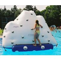 Wholesale Inflatable Climbing Wall With Water Slide, Inflatable Water Floating Iceberg from china suppliers