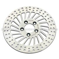 Buy cheap Stainless Steel Rear Disc Brakes Rotors Harley Davidson Sportster Accessories from wholesalers