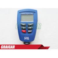 Wholesale Coating Thickness Meter CEM DT-156 Paint Gauge Auto F/NF Probe 1250 Micrometer V-groove from china suppliers
