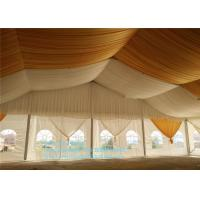 Wholesale Outdoor Clear Span Large Marquee Colorful Banquet Tents With Chairs And Tables from china suppliers