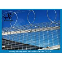 Wholesale Anti - Climbing High Security Fence Panels With 4.0mm Wire Diameter from china suppliers