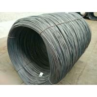Wholesale hot rolled low carbon steel wire rod SAE1008 5.5MM  6.5MM and above from china suppliers