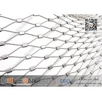 Wholesale 316L Stainless Steel Ferrule Wire Rope Mesh Netting | China Factory Direct Sales from china suppliers