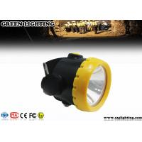 Quality 1W 4000 Lux LED Mining Light With 2.2Ah Li-Ion Battery Water Proof IP68  for sale