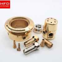 Wholesale Copper / Bronze C932 / Brass Nickle Plating 5 Axis CNC Machining from china suppliers