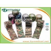 Wholesale Army Camping Hunting Camouflage Pattern Printing Non Woven Self Adhesive Elastic Bandage from china suppliers